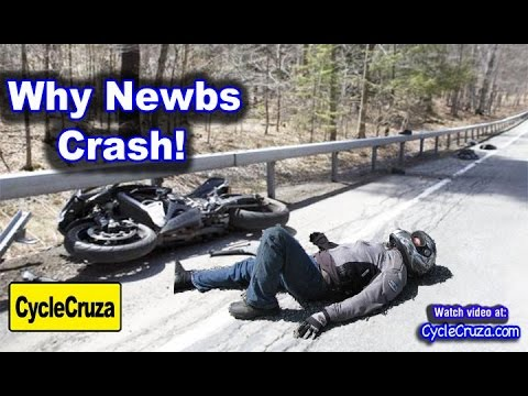 Why New Motorcycle Riders Crash | MotoVlog