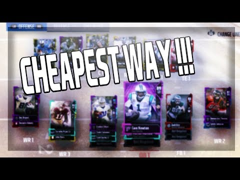 HOW YOU SHOULD BUILD YOUR TEAM IN MUT 18!!!! CHEAPEST WAY!!! |MADDEN 18 ULTIMATE TEAM