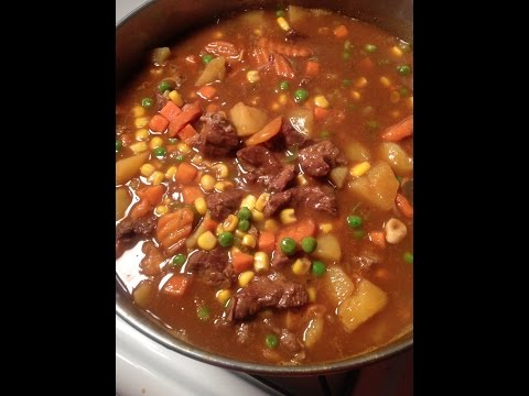 Southern Beef Stew (homemade)
