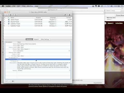 How to Make iTunes friendly TV show mp4