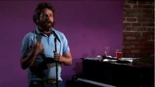 """Zach Galifianakis: Live at the Purple Onion (2/4) """"Fffattt"""" (2007) HD"""