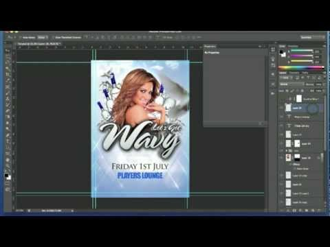 Photoshop Tutorial - Club Event Flyer Design #2