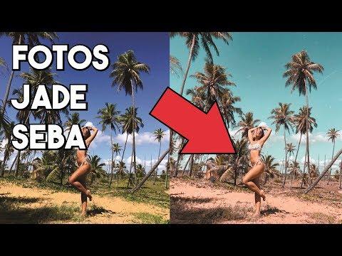 COMO EDITAR FOTOS IGUAL A JADE SEBA