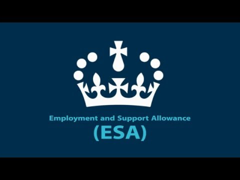Employment and Support Allowance (ESA): Things to Know