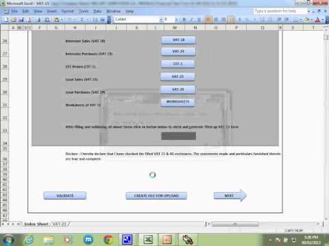 How To EFile Punjab VAT - 15 New eReturns  from www.solversolutions.in
