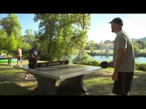 Quality outdoor ping pong, concrete results!