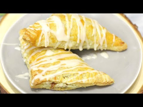 How to Make Apple Turnovers with Vanilla Glaze