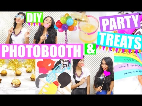DIY PhotoBooth & Party Treats | New Year's Eve