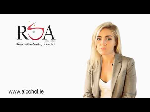 Responsible Serving of Alcohol Online Programme