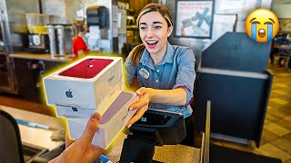 Tipping Fast Food Employees iPhone 11's (EMOTIONAL)