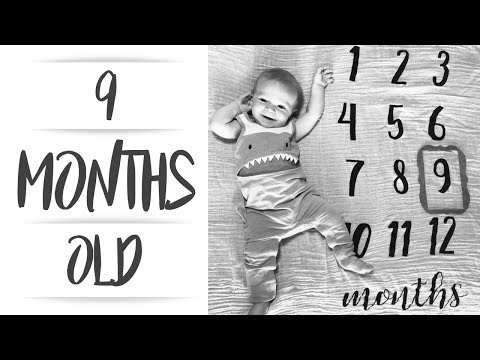 LINCOLN IS 9 MONTHS OLD!!
