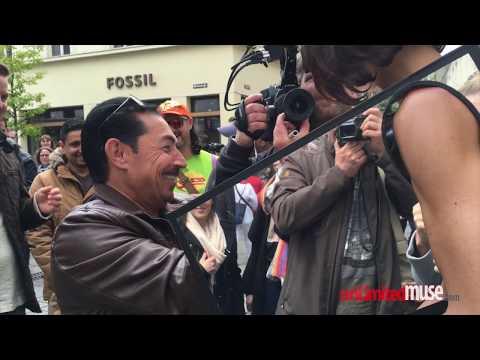 Xxx Mp4 MIRROR BOX Performance By Milo Moiré Censored Düsseldorf London Amsterdam 2016 3gp Sex