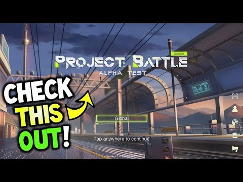 Project: Battle - A New Upcoming Mobile Battle Royale and More!