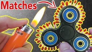 Download 1000MPH FIDGET SPINNER (FIRE WARNING!) Video
