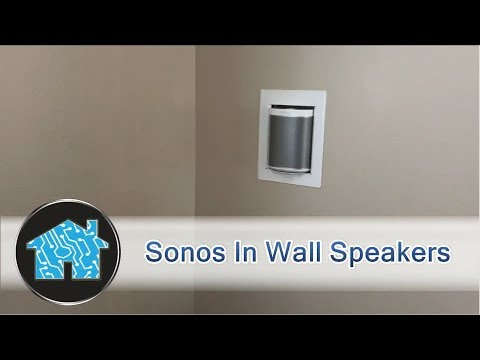 Sonos in wall speakers