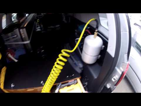 Added An ARB One Gallon Air Tank To My ARB Dual Air Compressor
