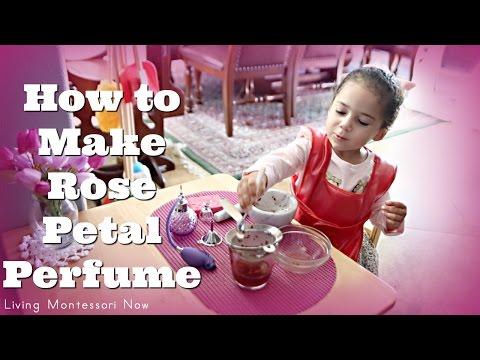 How to Make Rose Petal Perfume