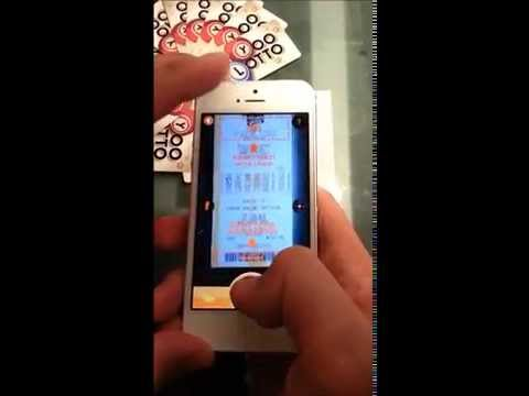 YooLotto Lottery Mobile App Demo: Scanning & Checking Tickets