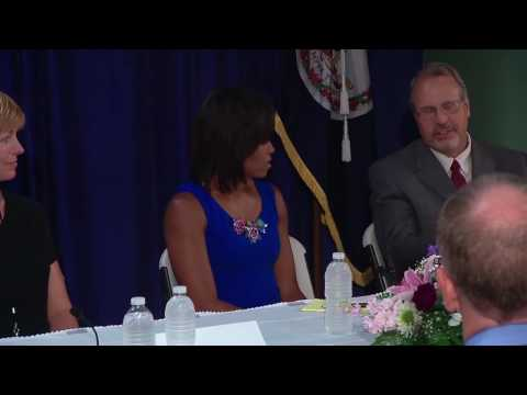 The First Lady Holds a Roundtable on Health Care Reform