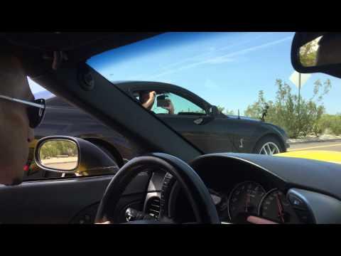 C6 Z06 Corvette VS Shelby GT500