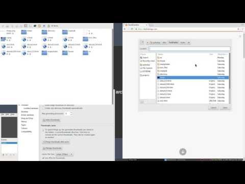Rox Filer Generates Directory Thumbnails For GTK+2