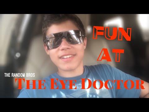 FUN at the Eye Doctor!!!! - The Random Bros