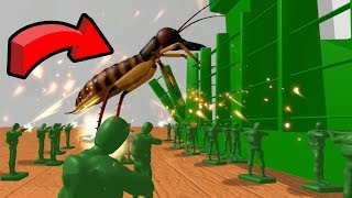 GIANT BUGS ATTACK!!! - Home Wars   Ep1