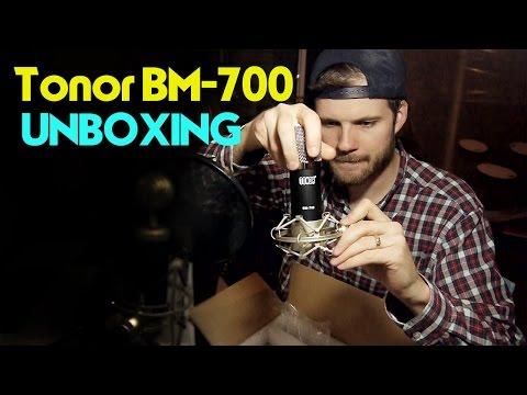 Tonor BM 700 Mic Kit Unboxing & Voice Test