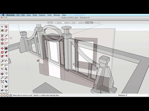 SketchUp Training Series: Push Pull tool