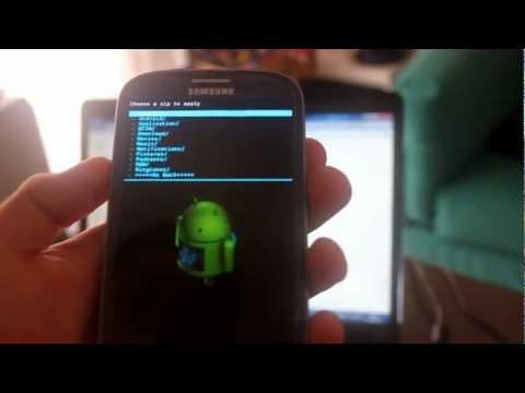 Root ed Installazione Android Jelly Bean 4.1.1 su Samsung Galaxy S3 - TUTORIAL ITALIANO
