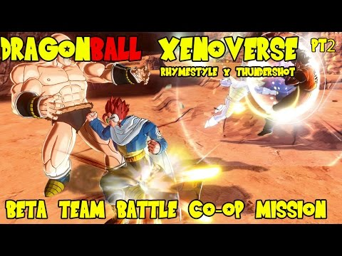 Dragon Ball Xenoverse Beta: Team Battle Co-op Mission w/ Thundershot 69 pt2