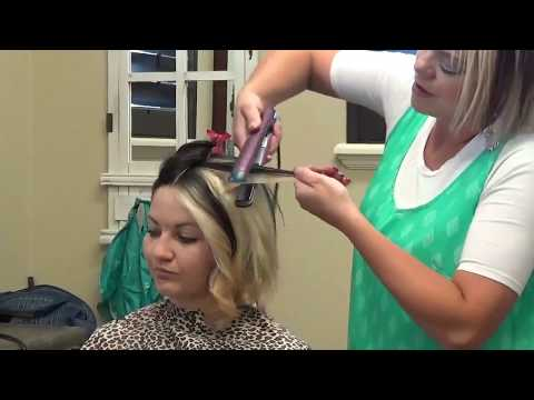 (RaDona Hair Tips) How To Curl Your Hair Using A Flat Iron