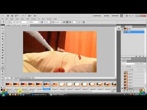 how to turn video into a GIF image with photoshop cs5