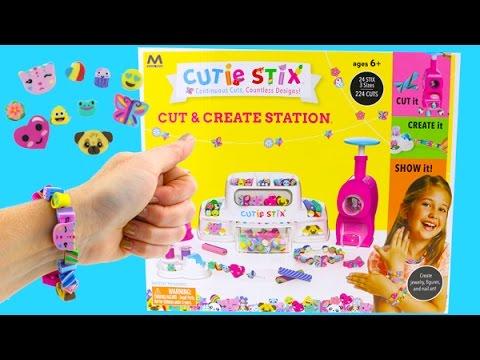 Cutie Stix DIY Make Your Own Bracelets and Necklaces! Kids Crafts