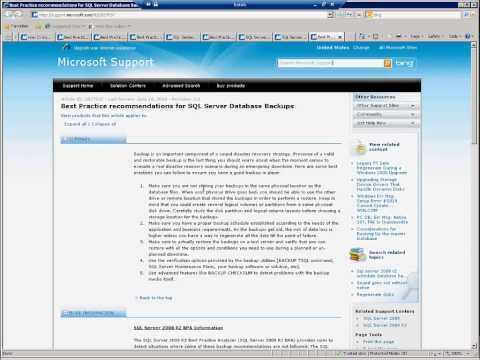 SQL Server 2008 R2 Best Practice Analyzer(BPA)
