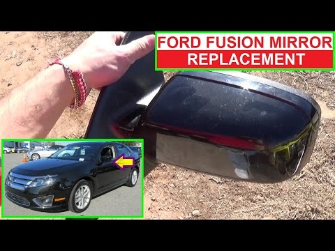 How to Remove and Replace the Side View Mirror on Ford Fusion Second Generation 2009 2010 2011 2012