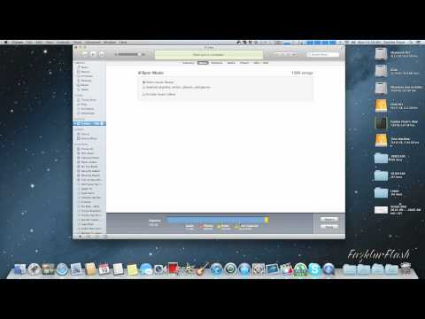 Ipod Nano 6G - Sync Selected Playlist iTunes