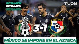 Resumen y Goles | México 3 - 1 Panamá | CONCACAF Nations League | TUDN
