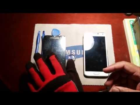 How to Repair Galaxy S5 Broken Digitizer | Replace Front Glass Galaxy S5 assembly