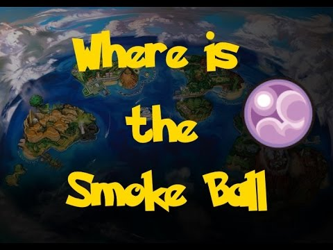 Where Is: The Smoke Ball (Pokemon Sun/Moon)