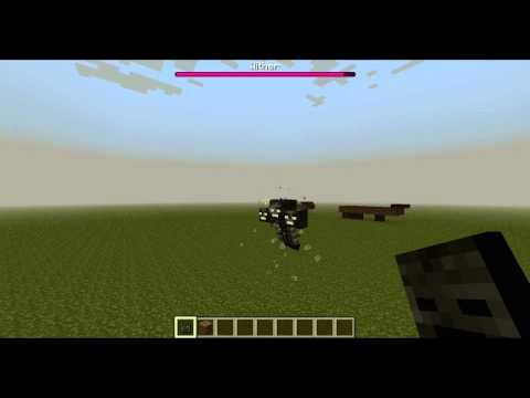 Minecraft: How to spawn Wither Boss!