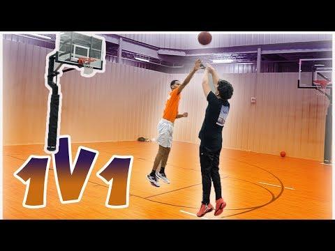 CRAZY 1V1 Basketball Game COMEBACK! Ft. ADBeast