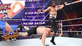 Seth Rollins counters Brock Lesnar and unleashes on The Beast: SummerSlam 2019