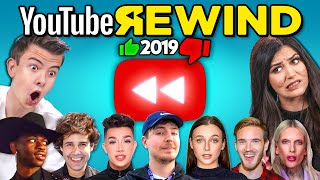 Teens & College Kids React To YouTube Rewind 2019