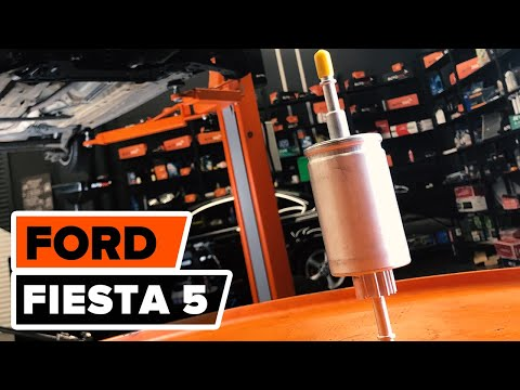 How to replace fuel filter on FORD FIESTA 5 TUTORIAL | AUTODOC