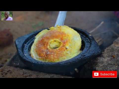 World Best Omelette - Grandma(Chinna pillai) making world best omelette.