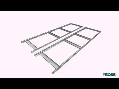 Screwfix - RB Boss Galvanised Boltless Freestanding Shelving 4-Tier