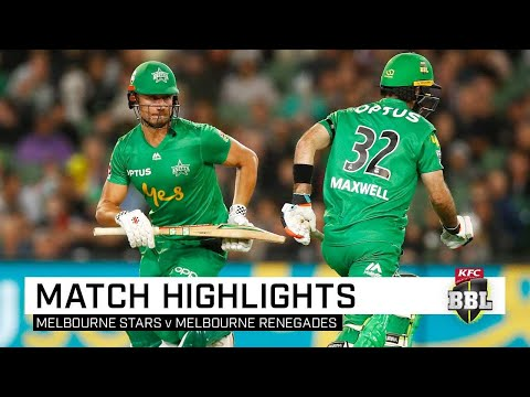 Stars soar to keep Renegades winless in Melbourne Derby   KFC BBL 09