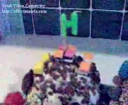 My birthday Train Cake