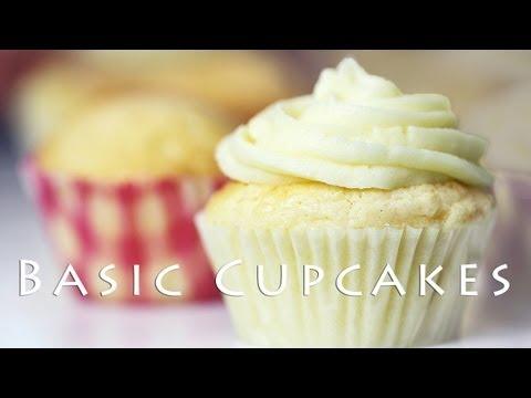 Basic Cupcake Recipe 컵케익 만들기